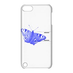 Decorative Blue Butterfly Apple iPod Touch 5 Hardshell Case with Stand