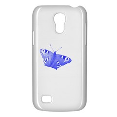 Decorative Blue Butterfly Samsung Galaxy S4 Mini (GT-I9190) Hardshell Case
