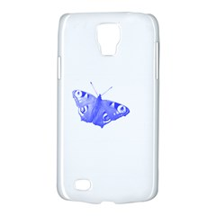 Decorative Blue Butterfly Samsung Galaxy S4 Active (I9295) Hardshell Case