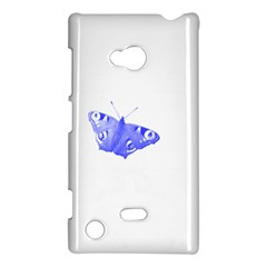 Decorative Blue Butterfly Nokia Lumia 720 Hardshell Case