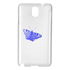 Decorative Blue Butterfly Samsung Galaxy Note 3 N9005 Hardshell Case