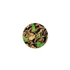 Retro Swirl 1  Mini Button