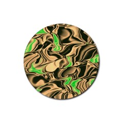 Retro Swirl Drink Coaster (Round)