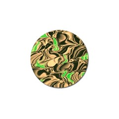 Retro Swirl Golf Ball Marker 10 Pack