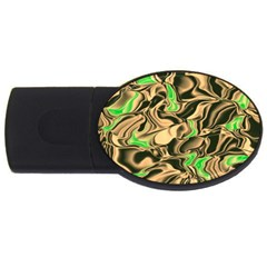 Retro Swirl 2GB USB Flash Drive (Oval)