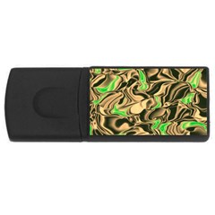 Retro Swirl 1GB USB Flash Drive (Rectangle)
