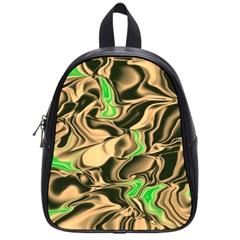 Retro Swirl School Bag (Small)
