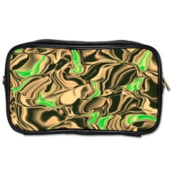 Retro Swirl Travel Toiletry Bag (two Sides)