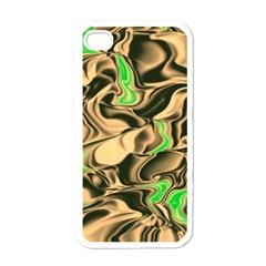 Retro Swirl Apple Iphone 4 Case (white)