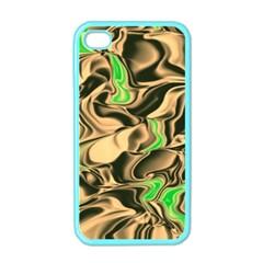 Retro Swirl Apple iPhone 4 Case (Color)