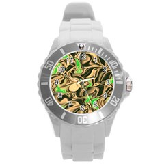 Retro Swirl Plastic Sport Watch (large)