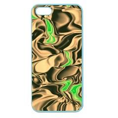 Retro Swirl Apple Seamless iPhone 5 Case (Color)