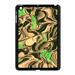 Retro Swirl Apple Ipad Mini Case (black)