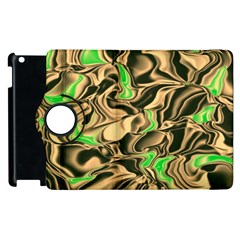 Retro Swirl Apple iPad 3/4 Flip 360 Case