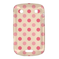 Pale Pink Polka Dots BlackBerry Bold Touch 9900 9930 Hardshell Case
