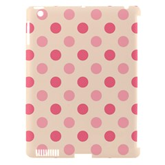 Pale Pink Polka Dots Apple iPad 3/4 Hardshell Case (Compatible with Smart Cover)