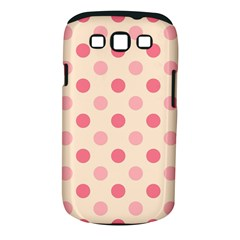 Pale Pink Polka Dots Samsung Galaxy S III Classic Hardshell Case (PC+Silicone)