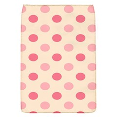 Pale Pink Polka Dots Removable Flap Cover (Small)