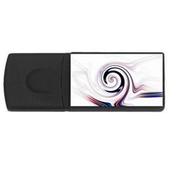 L528 2GB USB Flash Drive (Rectangle)