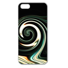 L527 Apple Seamless Iphone 5 Case (clear)