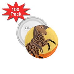 Embracing The Moon 1.75  Button (100 pack)