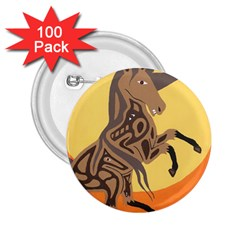 Embracing The Moon 2.25  Button (100 pack)