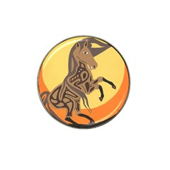 Embracing The Moon Golf Ball Marker 4 Pack (for Hat Clip)