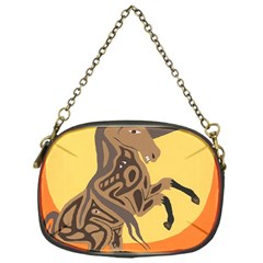 Embracing The Moon Chain Purse (one Side)