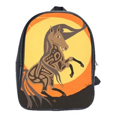 Embracing The Moon School Bag (Large)