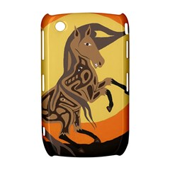 Embracing The Moon BlackBerry Curve 8520 9300 Hardshell Case