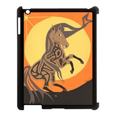 Embracing The Moon Apple iPad 3/4 Case (Black)