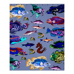 Fishy Shower Curtain 60  x 72  (Medium)