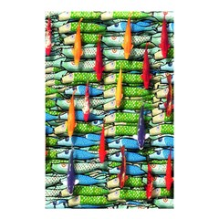 Tiny Fish Shower Curtain 48  x 72  (Small)