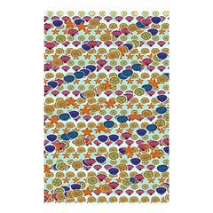 Sea Shells Shower Curtain 48  x 72  (Small)