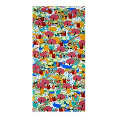 Summer Spa Vacation Shower Curtain 36  x 72  (Stall)