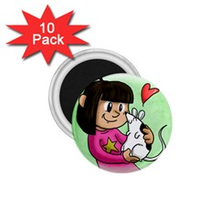 Bookcover  Copy 1.75  Button Magnet (10 pack)