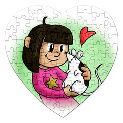 Bookcover  Copy Jigsaw Puzzle (Heart)