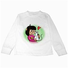 Bookcover  Copy Kids Long Sleeve T Shirt