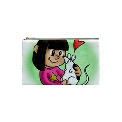 Bookcover  Copy Cosmetic Bag (Small)