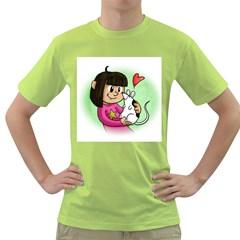 Bookcover  Copy Men s T Shirt (green)