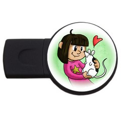 Bookcover  Copy 2gb Usb Flash Drive (round)