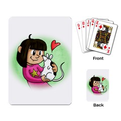 Bookcover  Copy Playing Cards Single Design
