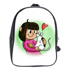 Bookcover  Copy School Bag (Large)