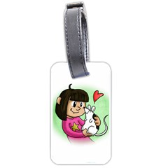 Bookcover  Copy Luggage Tag (two Sides)