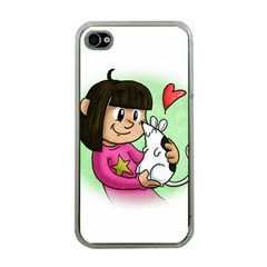 Bookcover  Copy Apple iPhone 4 Case (Clear)