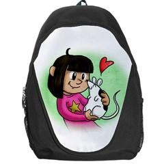 Bookcover  Copy Backpack Bag