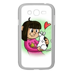 Bookcover  Copy Samsung Galaxy Grand Duos I9082 Case (white)