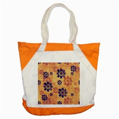 Funky Floral Art Accent Tote Bag