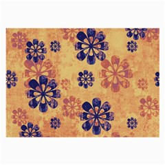 Funky Floral Art Glasses Cloth (Large, Two Sided)