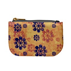 Funky Floral Art Coin Change Purse